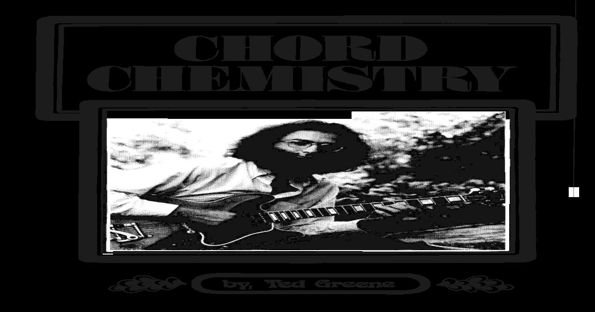 Chord Chemistry By Ted Greene Pdf Pdf Document