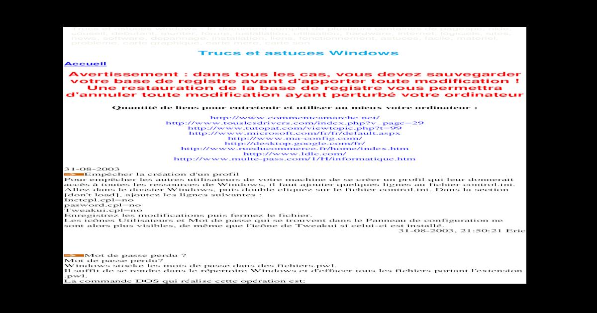 racine windows system32 ntoskrnl.exe manquant ou endommag