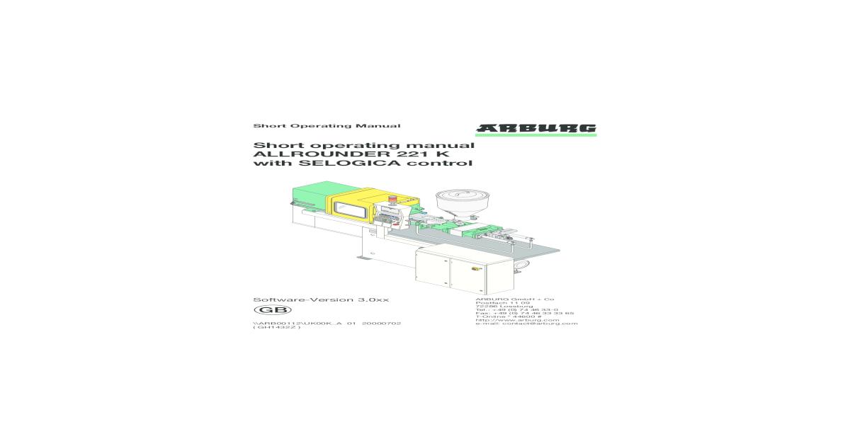 Arburg 221 manual pdf document fandeluxe Choice Image
