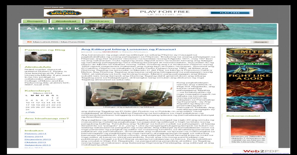 Alimbukad Comfsfa - [PDF Document]