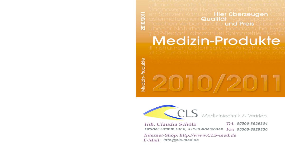 Alles für die Arztpraxis - [PDF Document]