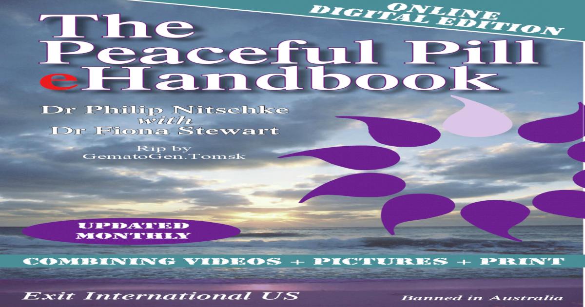 Peaceful Pill Ebook