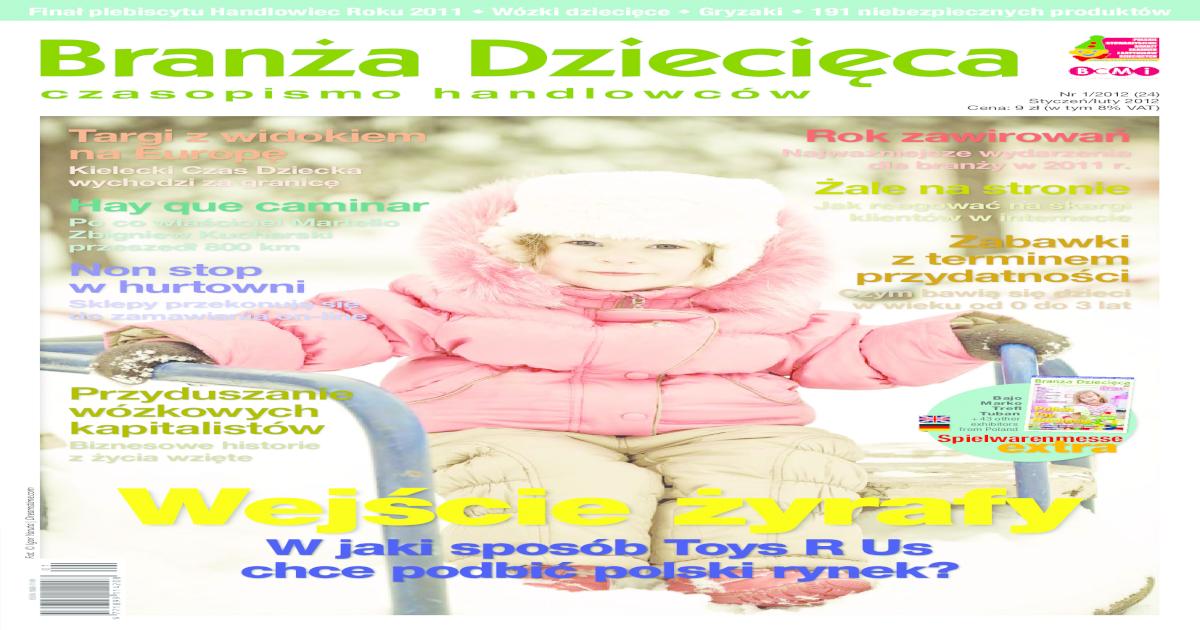 0e518b2dbe Branza Dziecieca 1 2012 -  PDF Document