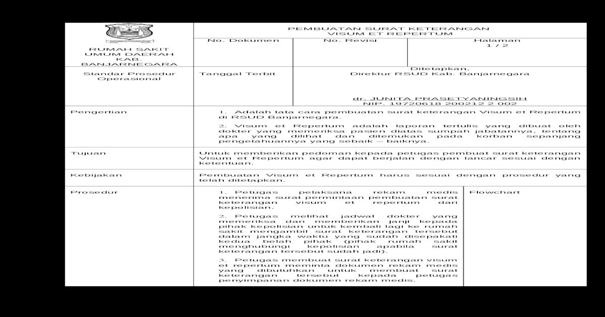 Spo Psket Visum Et Repertum Docx Document