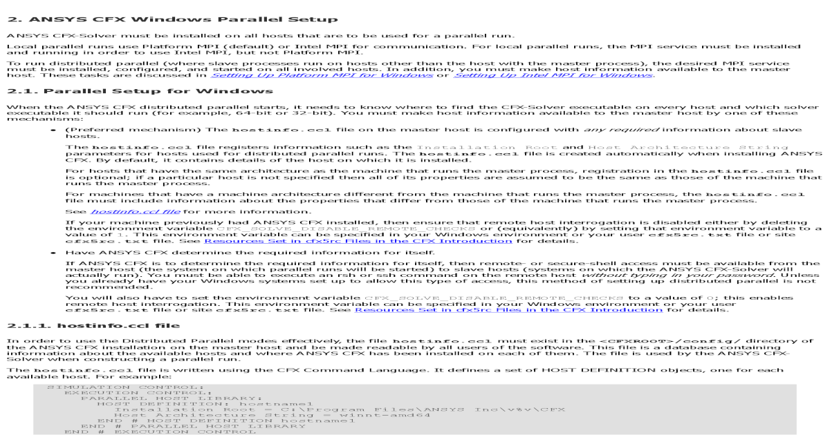 ANSYS Mpi - [PDF Document]