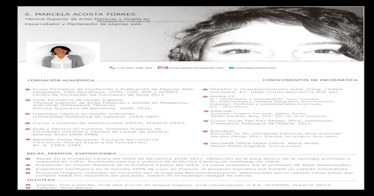 Curriculum Vitae Pdf Document