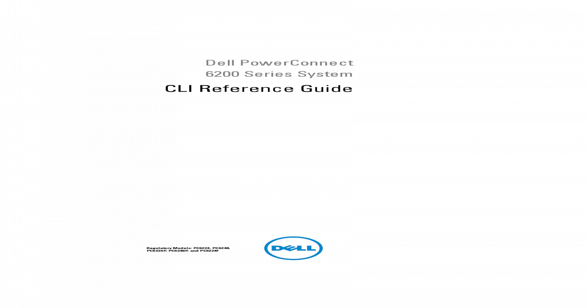 Powerconnect-6248 Reference Guide en-us - [PDF Document]