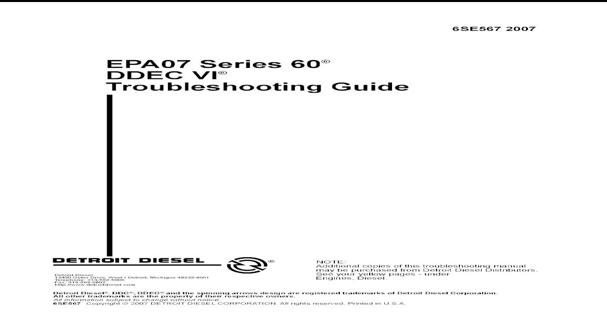Guia de Fallas Serie 60 - [PDF Document]