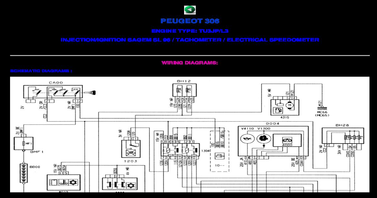 peugeot 306 wiring diagram central locking peugeot 306 wiring diagrams  pdf document   peugeot 306 wiring diagrams  pdf