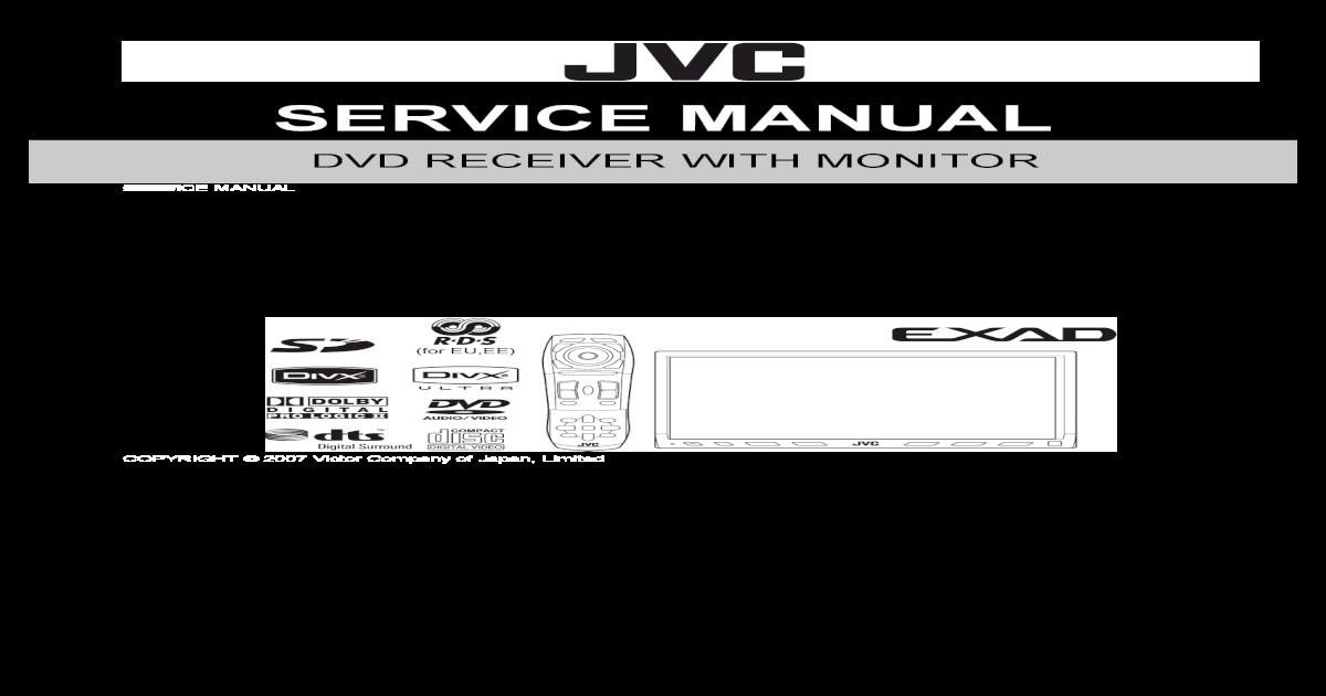 Jvc Kw Avx900 - [PDF Doent]  Channel Amp Wiring Diagram For Jvc Kd R on
