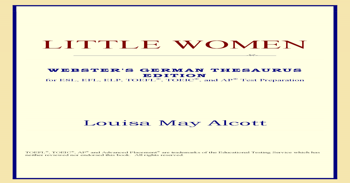 b7e36f67bb658 Little Women -  PDF Document