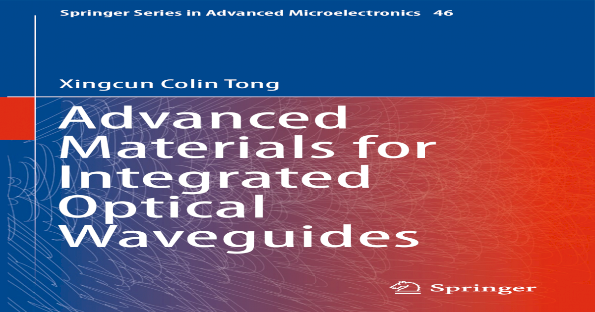 Springer Series in Advanced Microelectronics] Advanced Materials for