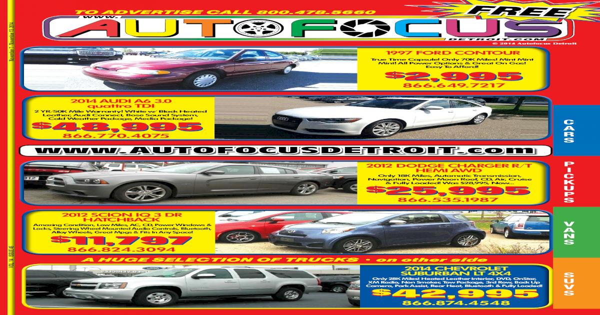 Detroit AutoFocus Vol 14 Issue 45 - [PDF Document]