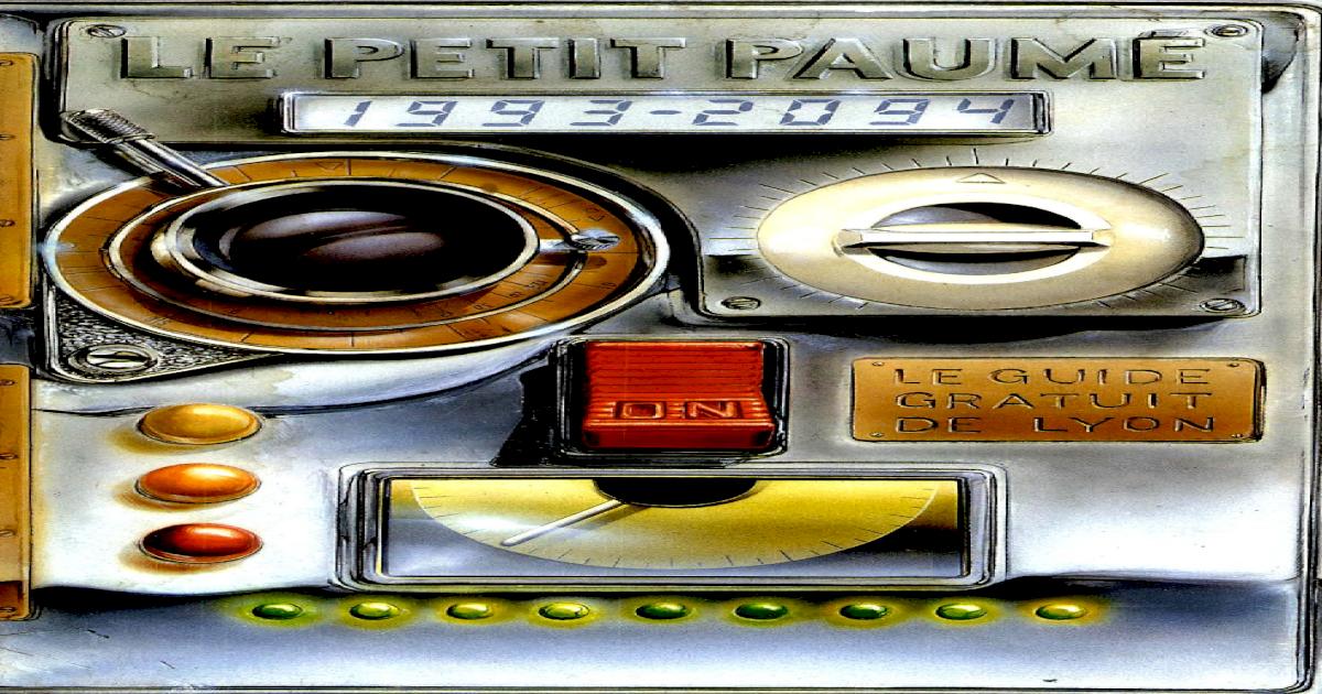 Petit Lyonpdf Document Le 19931994 City Guide De Paum sQrdCht