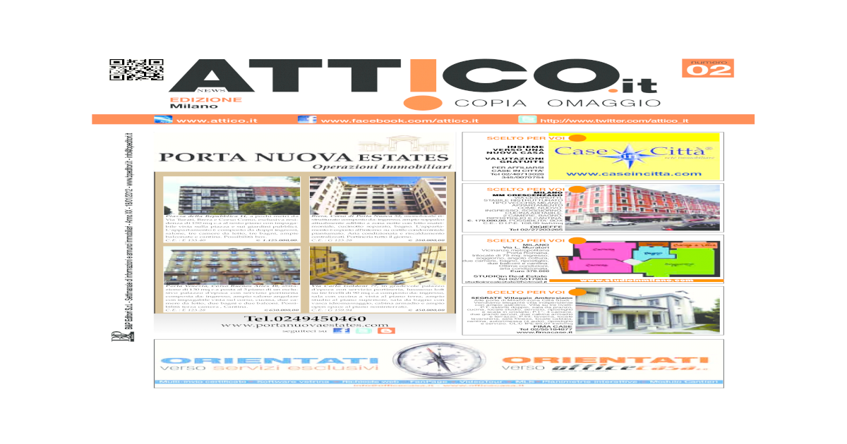 Attico Milano Pdf Document