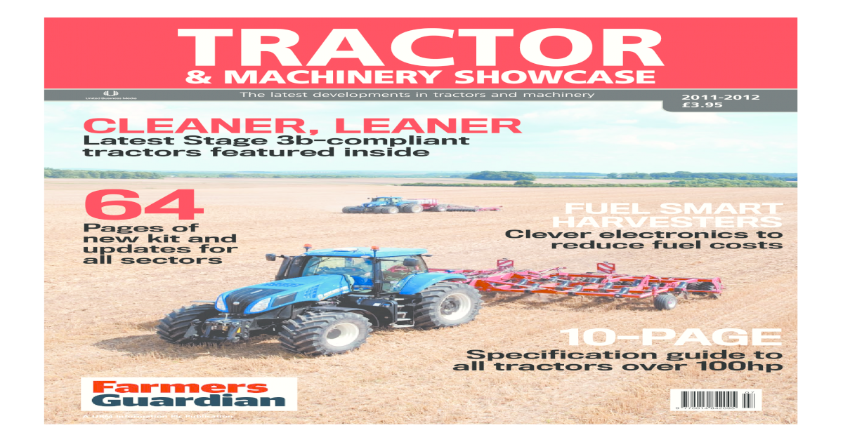 Tractor & Machinery Showcase Digital Edition - [PDF Document]