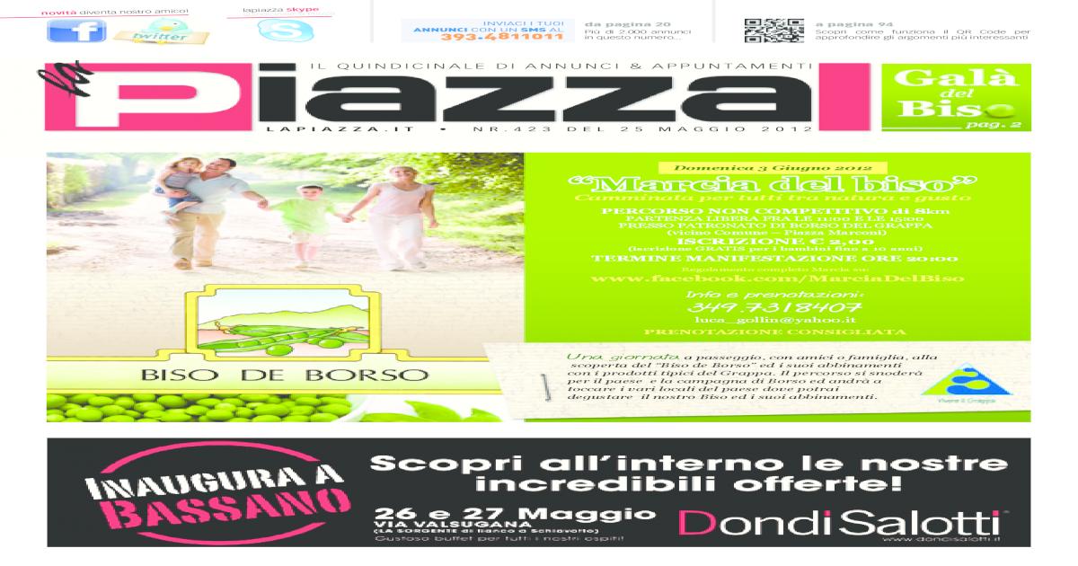 reputable site c8e6d 3d7f6 la Piazza 423 -  PDF Document