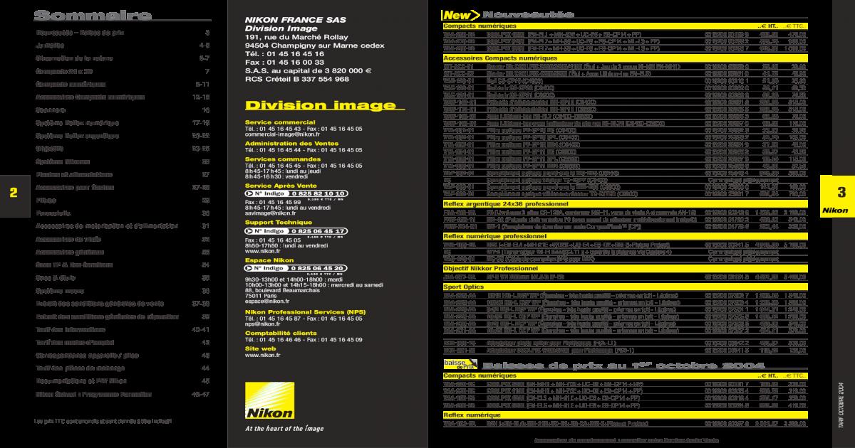 Nikon POLARISANT PRO Filtre doculaire 2x n/écessaires