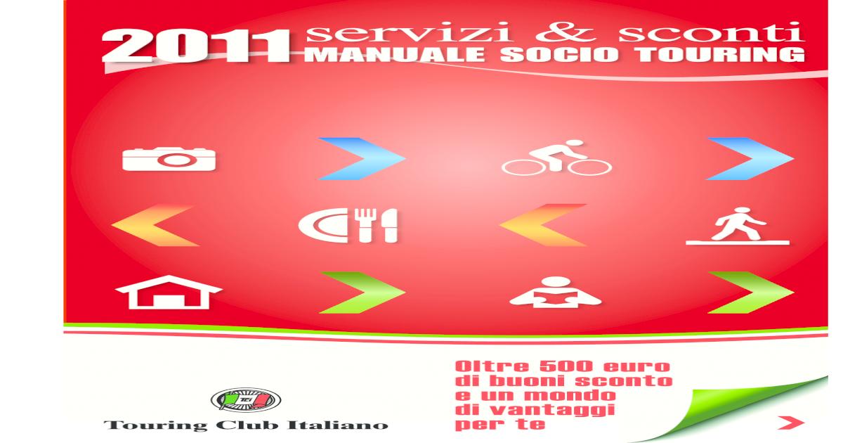 Manuale Socio Tci 2011 Pdf Document