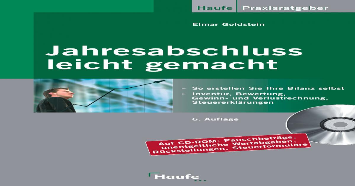 Jahresabschluss Leicht Gemacht 6 Auflage Pdf Document