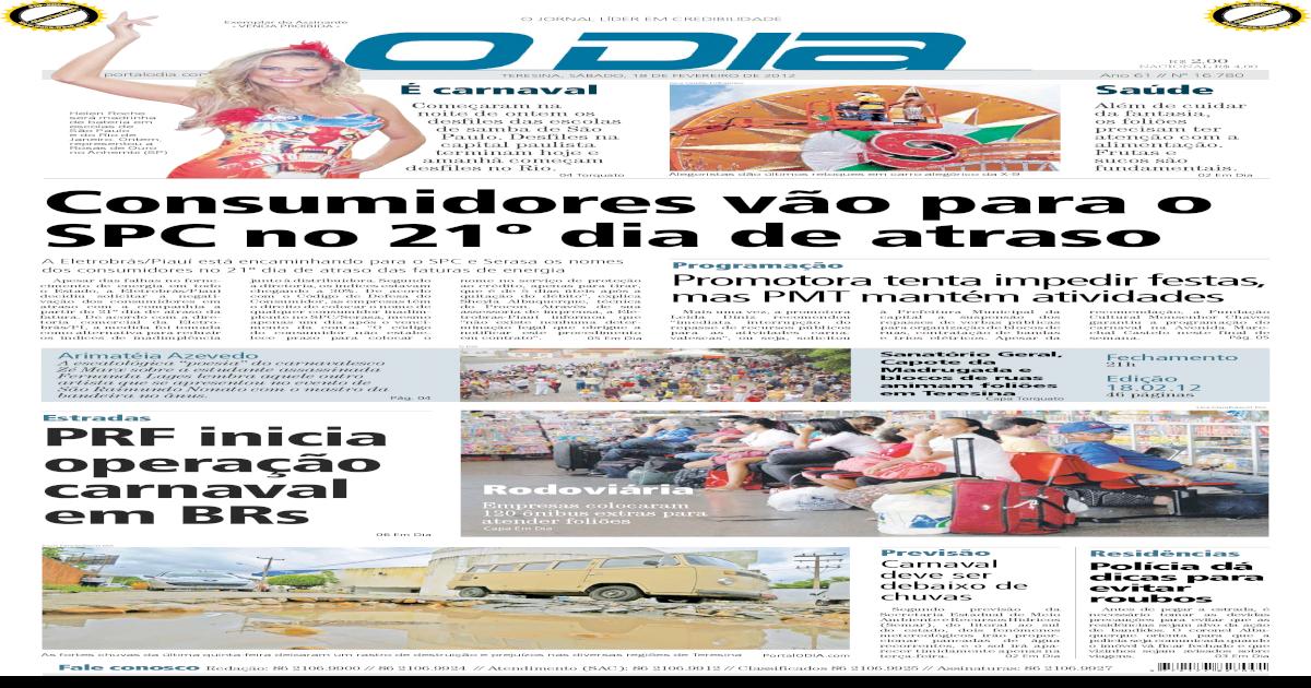 jornal O DIA -  PDF Document  f5efcd1c13316