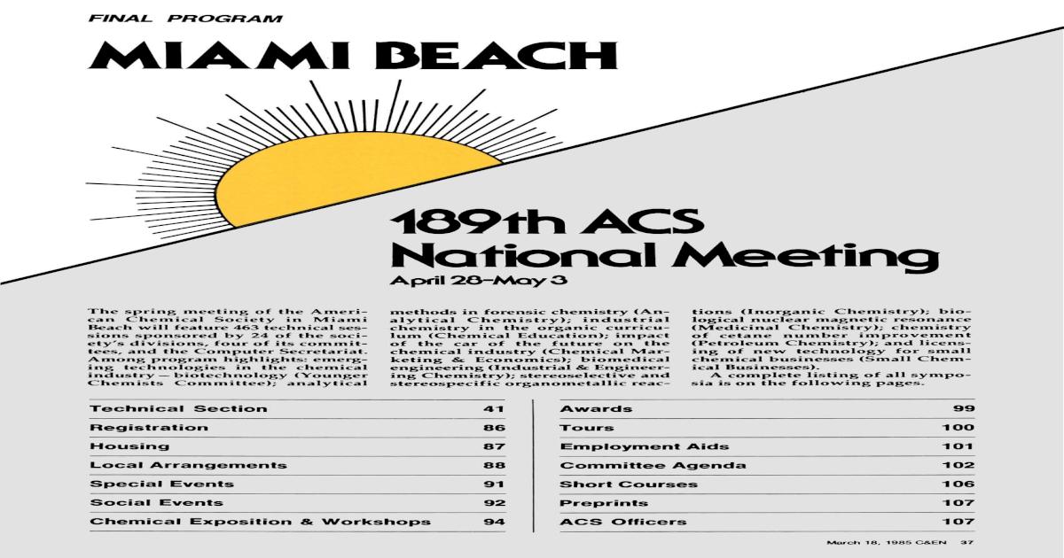 MIAMI BEACH - [PDF Doent] on