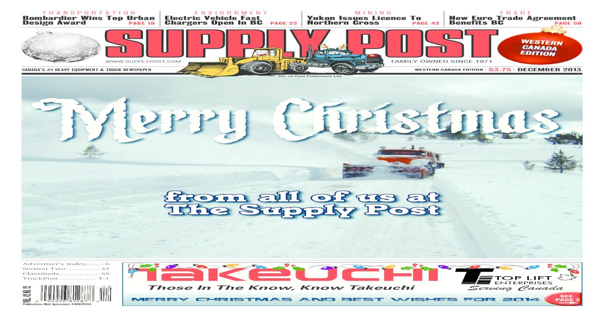 Supply Post West Dec 2013 - [PDF Document]
