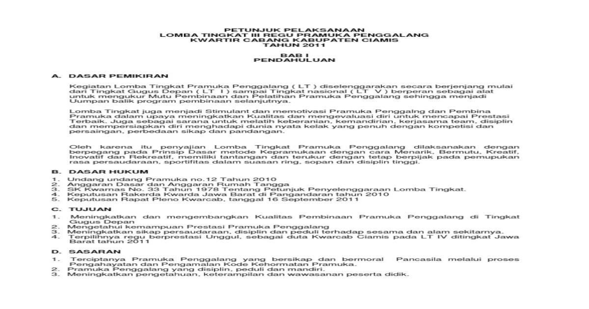 Petunjuk Pelaksanaandocx Pdf Document