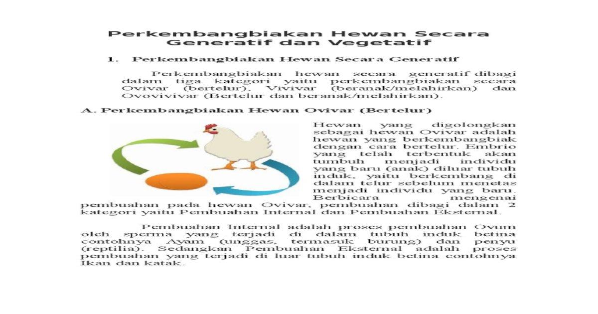 Cara Berkembang Biak Ayam - Rectangle Circle