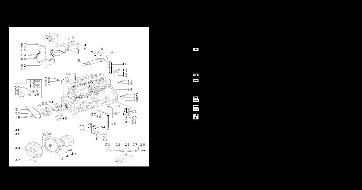 Massey Ferguson 135,35,35x,165,65 Tractor Bisagra Pin
