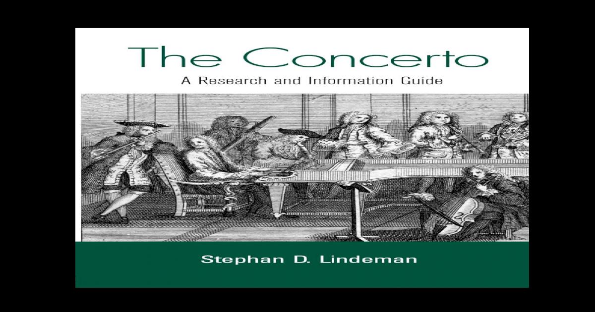 0415976197 The Concerto Pdf Document