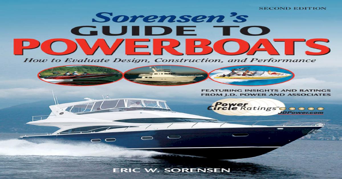 Sorensen 039 s Guide to Powerboats 2 E - [PDF Document]