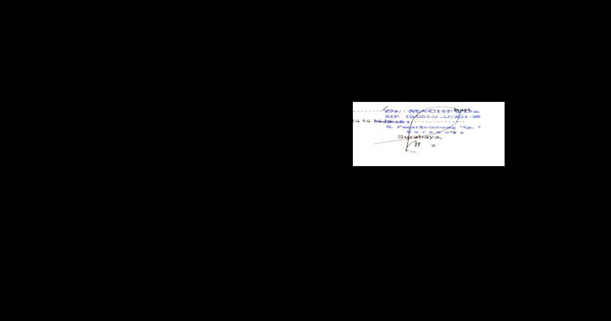 Surat Dokter Doc Document