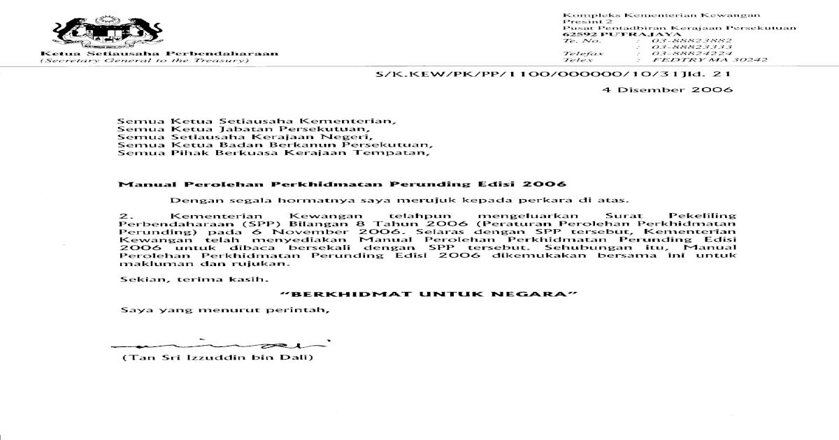 Manual Perolehan Perunding 2006 Pdf Document