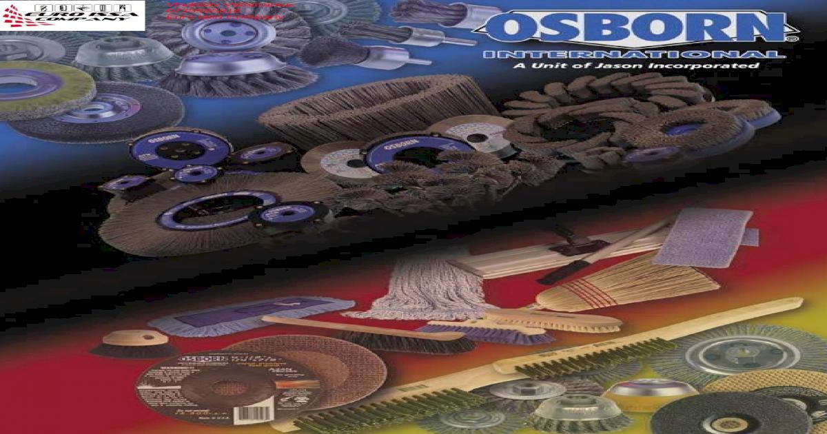 "144 PACK Osborn 74060 Tin Ferrule Acid Brush 3//8/"" Made in USA Horsehair,"
