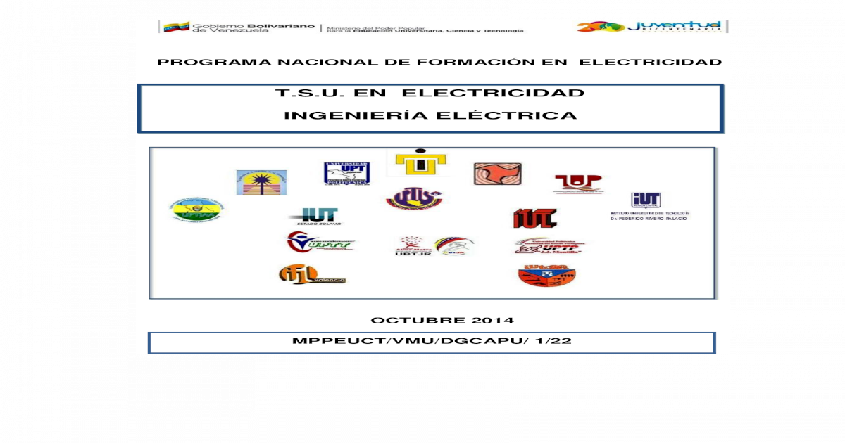 PNF ELECTRICIDAD - [PDF Document]