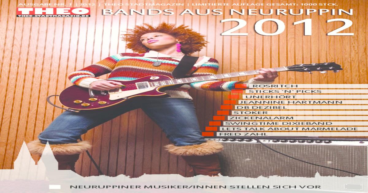 Bands Aus Neuruppin Pdf Document
