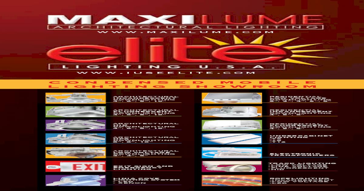 MaxiLume HH6PL-1X26//32//42-E-MVOLT Down light Housing
