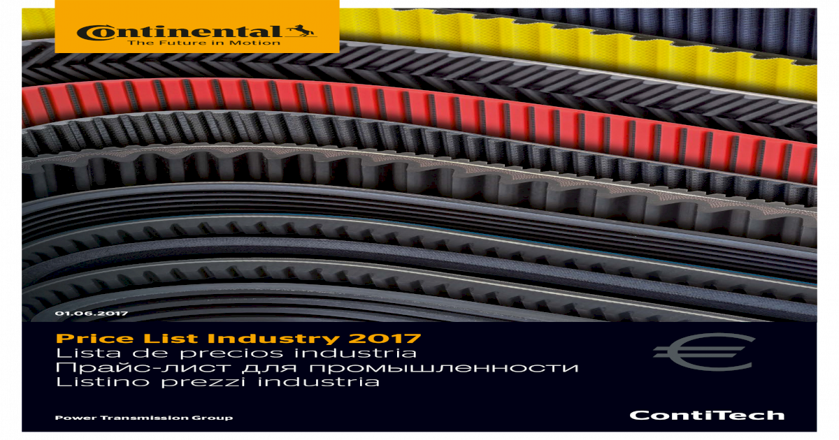 Continental 11,5/x 790/LD en Contitech Correa trapezoidal