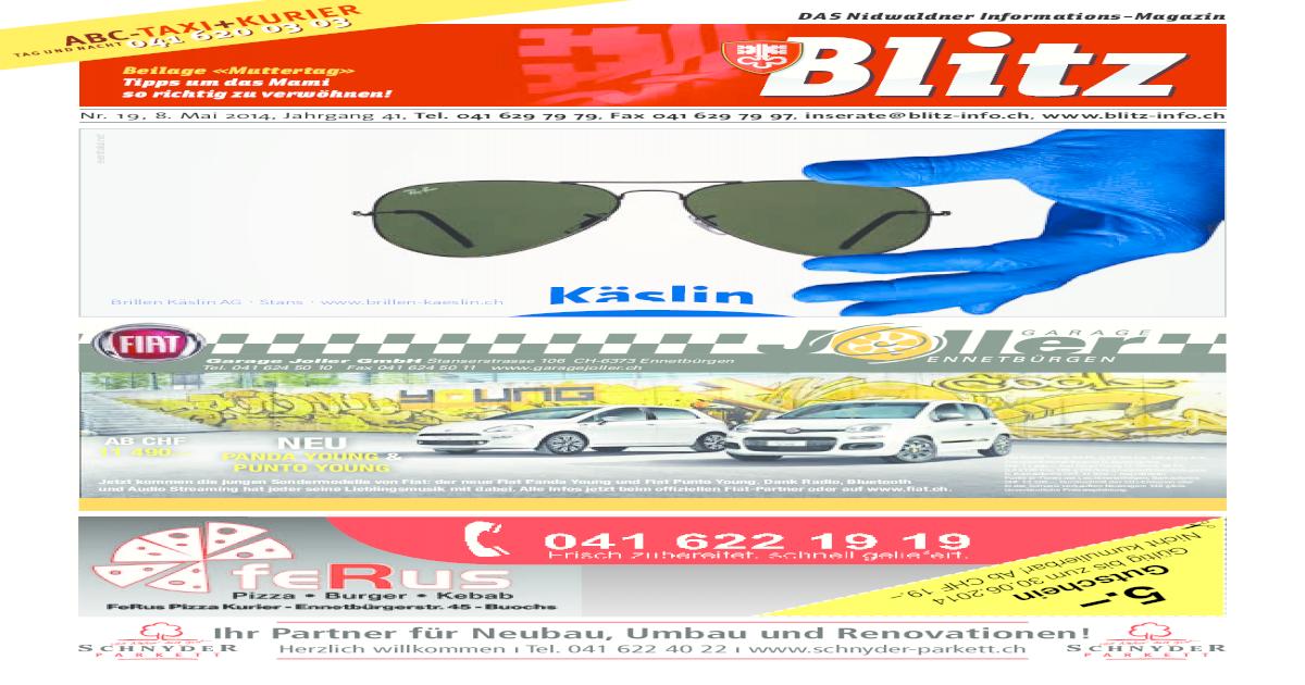 48-2012, Nidwaldner Blitz by Blitz - issuu
