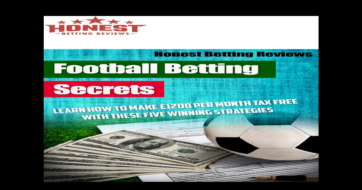 football betting secrets pdf