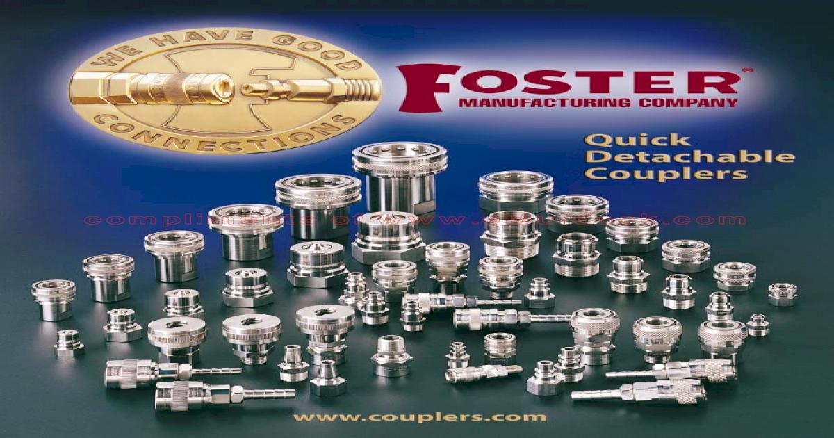 Steel Plug 1//4 Hose Barb Industrial Interchange P//N 04-2 1//8 Body Foster 2 Series