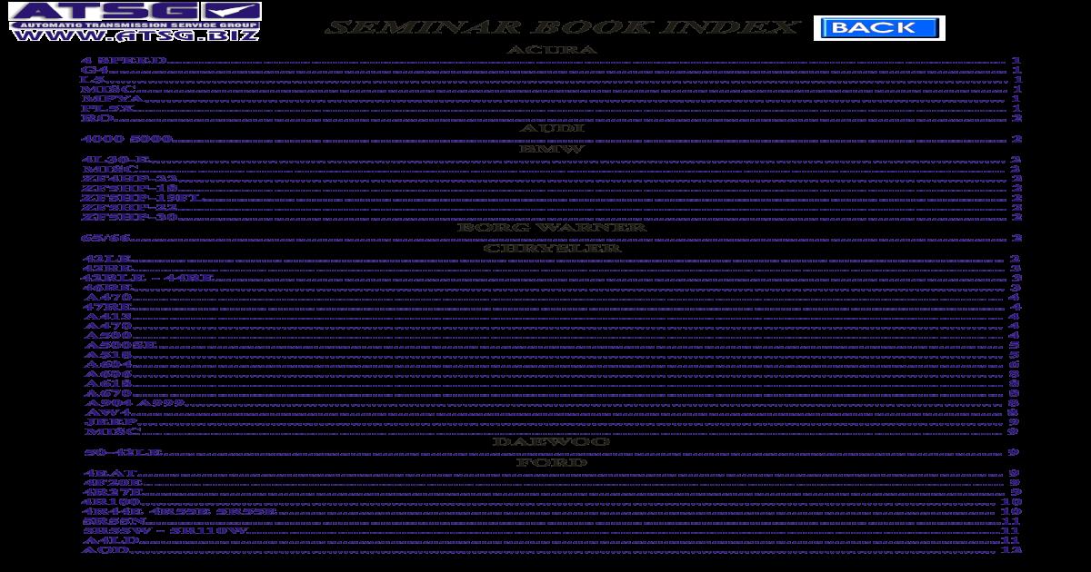 Atsg2005Seminar - [PDF Doent] on
