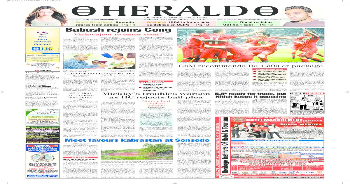 22 June Herald Publication [PDF Document]