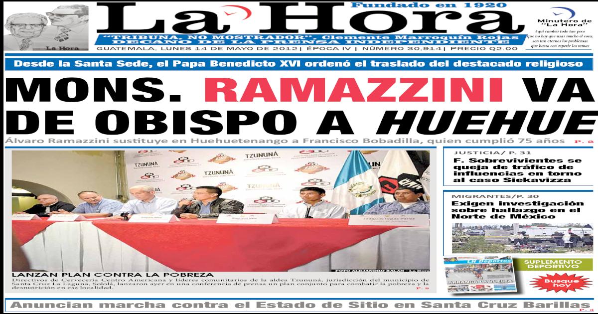 Diario La Hora 14 05 2012 Pdf Document