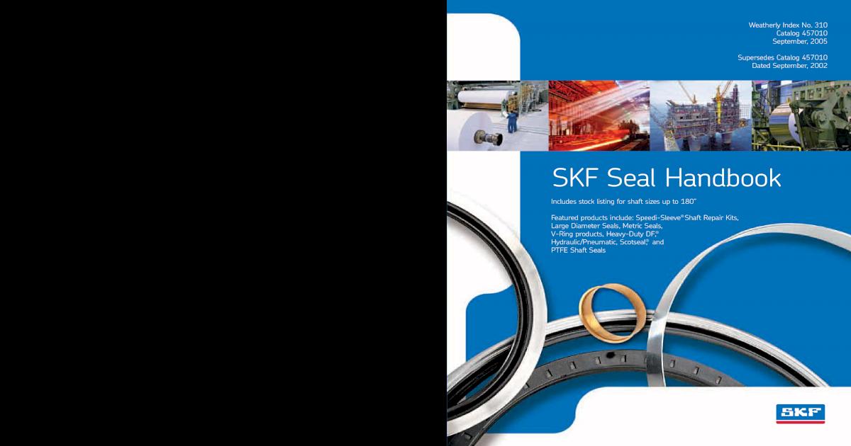 Lot of 2 SKF Oil Seal 400651