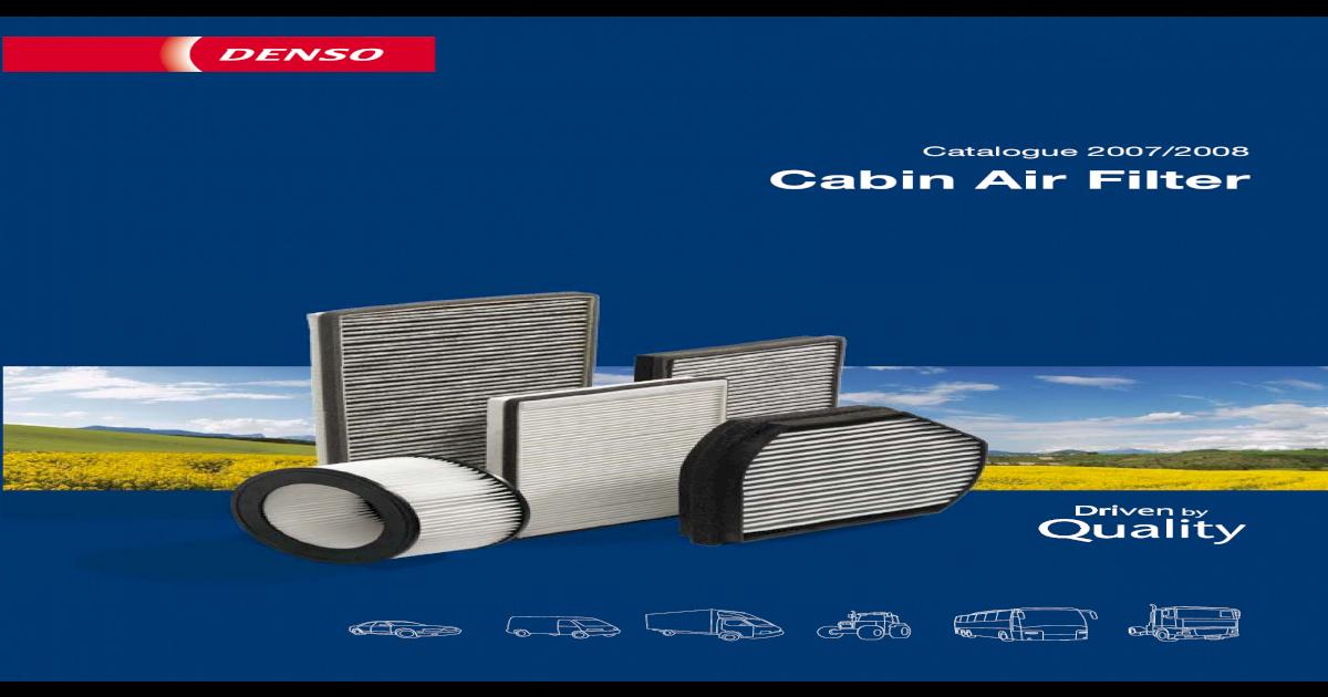 DCF065K Denso Cabin Air Filter