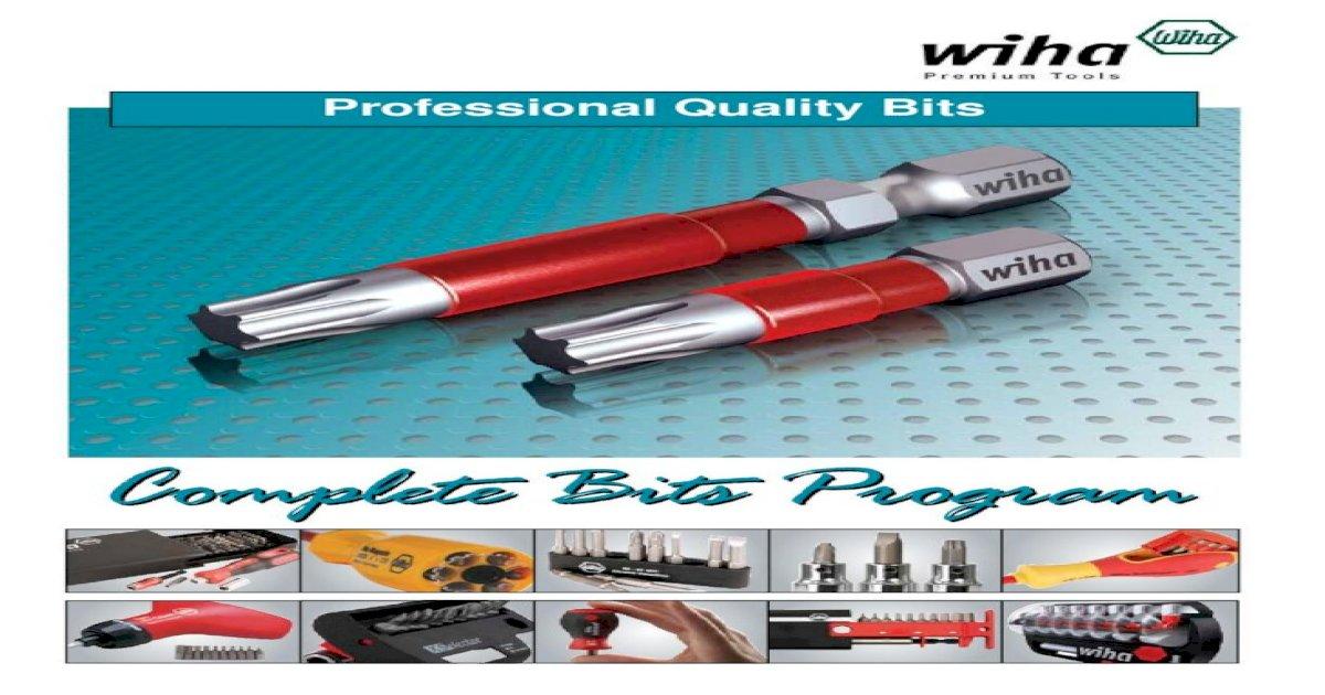 IP25 x 50mm 2 pieces Wiha 74667 TorxPlus® Power Bit