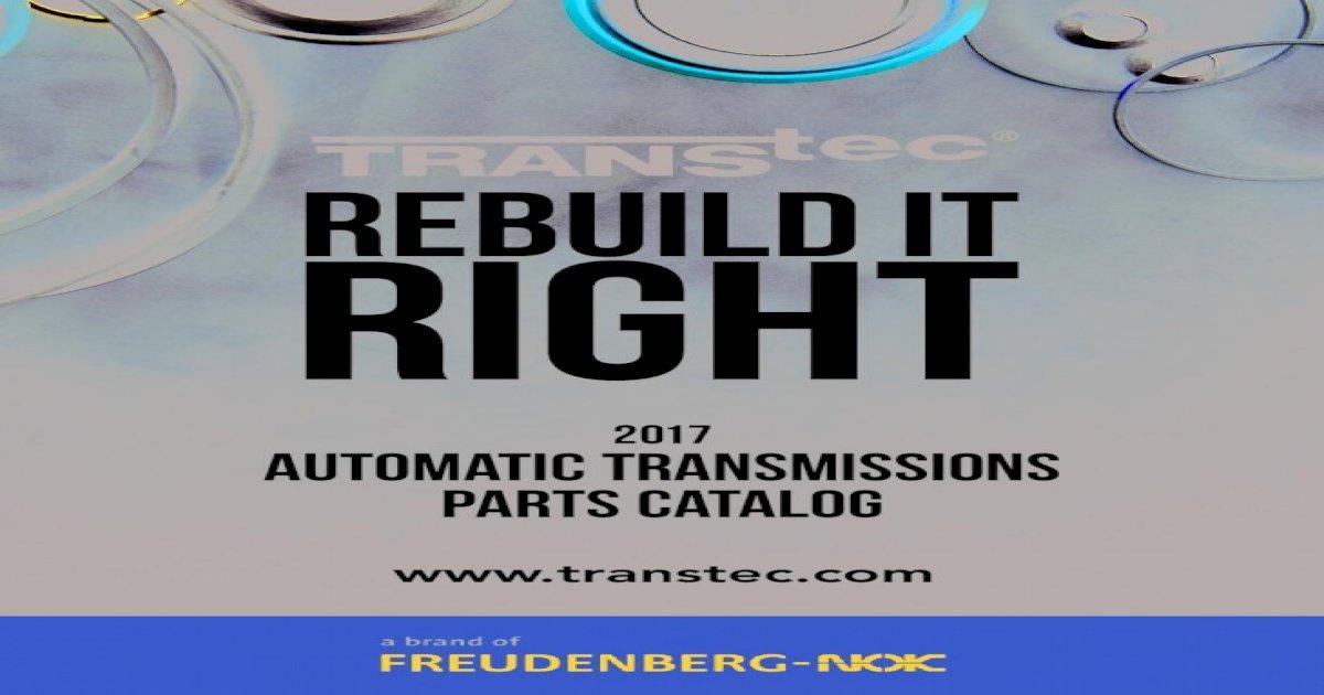 Front Pump FMX 68-81 Transtec B24072 O-Ring