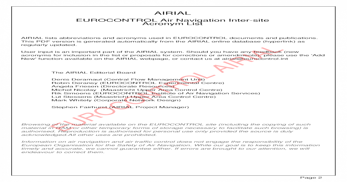 Acronym List - [PDF Document]